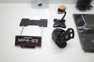 デアゴスティーニ 18 マクラーレン MP4-23 McLaren アクリルケース 付- (105)