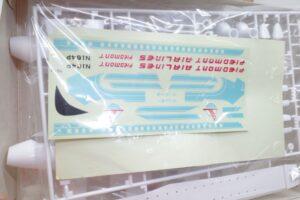 バンザイ 旧 バンダイ 172 YS-11 全日空 ANA 旅客機 プラモデル- (8)