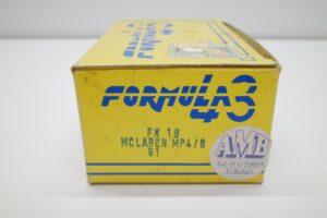 フォーミュラ Formula 43 1-43 FK 16 マクラーレン ホンダ — (1)
