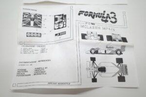 フォーミュラ Formula 43 1-43 FK 16 マクラーレン ホンダ — (13)