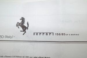 ボシカ 143 Bosica フェラーリ Ferrari 15685 1985 サンマリノGP (30)