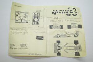 レーシング Racing 43 1-43 RK 22 ウイリアムズ ルノー – (14)