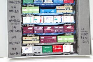 KATO カトー TOMIX トミックス Nゲージ コキ 104106 他 コンテナ 貨物列車 10両 セット- (8)