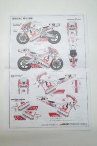 スタジオ STUDIO 27 1-12 ST27-TK1231C ホンダ NSR500-PRAMAC- (16)