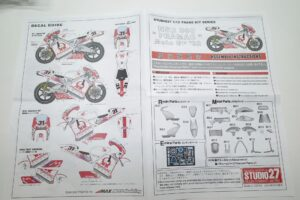 スタジオ STUDIO 27 1-12 ST27-TK1231C ホンダ NSR500-PRAMAC- (18)