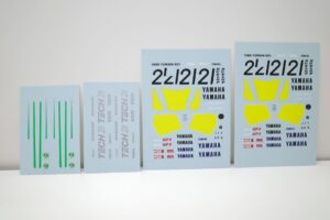 K'S WORKSHOP 1-12 ヤマハ 1989 YZR500 #21 TECH 21 YAMAHA Trans kit (14)