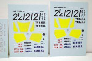 K'S WORKSHOP 1-12 ヤマハ 1989 YZR500 #21 TECH 21 YAMAHA Trans kit (16)