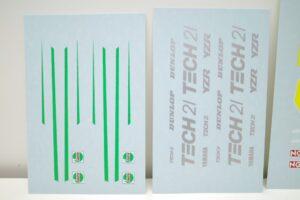 K'S WORKSHOP 1-12 ヤマハ 1989 YZR500 #21 TECH 21 YAMAHA Trans kit (17)