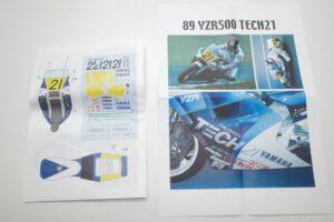 K'S WORKSHOP 1-12 ヤマハ 1989 YZR500 #21 TECH 21 YAMAHA Trans kit (19)