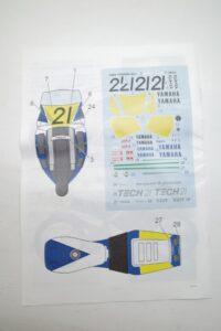 K'S WORKSHOP 1-12 ヤマハ 1989 YZR500 #21 TECH 21 YAMAHA Trans kit (20)