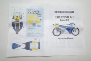 K'S WORKSHOP 1-12 ヤマハ 1989 YZR500 #21 TECH 21 YAMAHA Trans kit (21)