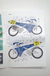 K'S WORKSHOP 1-12 ヤマハ 1989 YZR500 #21 TECH 21 YAMAHA Trans kit (25)