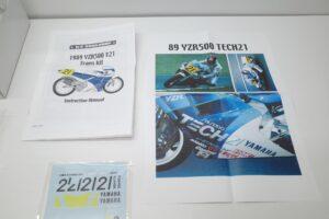 K'S WORKSHOP 1-12 ヤマハ 1989 YZR500 #21 TECH 21 YAMAHA Trans kit (9)
