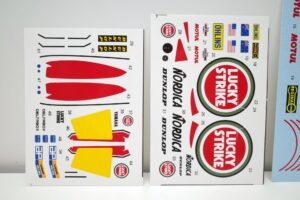 K'S WORKSHOP 1-12 ヤマハ 1989 YZR500 #3#5 LUCKY STRIKE YAMAHA ラッキーストライク Trans kit- (11)