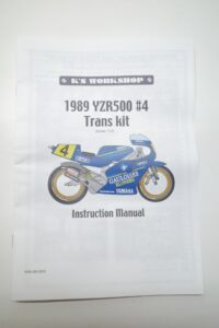 K'S WORKSHOP 1-12 ヤマハ 1989 YZR500 #7 SONAUTO ソノート YAMAHA Trans kit- (12)