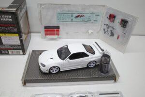 ホットワークス 1-24 日産 スカイライン GT-R V-スペックII 2002 BNR34 ニスモ R-S-tune 白- (35)
