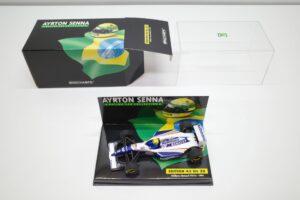 PMA 1-43 ウイリアムズ ルノー FW16 1994 A.セナ No.20 ロスマンズ Rothmans 仕様 Williams Renault- (12)