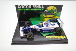 PMA 1-43 ウイリアムズ ルノー FW16 1994 A.セナ No.20 ロスマンズ Rothmans 仕様 Williams Renault- (14)