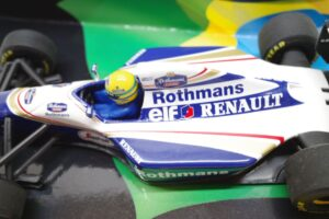 PMA 1-43 ウイリアムズ ルノー FW16 1994 A.セナ No.20 ロスマンズ Rothmans 仕様 Williams Renault- (22)