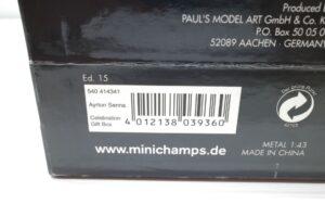 PMA 1-43 マクラーレン フォード MP4-8 A.セナ オーストラリアGP Win 1993 41st ギフトボックス- (4)