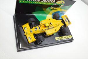 PMA 1-43 ロータス ホンダ 99T ターボ Turbo A.セナ #12 No.15 1987 キャメル CAMEL タバコ 仕様 Lotus Honda- (13)