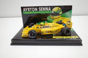 PMA 1-43 ロータス ホンダ 99T ターボ Turbo A.セナ #12 No.15 1987 キャメル CAMEL タバコ 仕様 Lotus Honda- (23)
