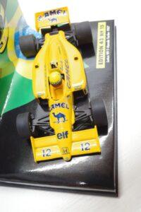 PMA 1-43 ロータス ホンダ 99T ターボ Turbo A.セナ #12 No.15 1987 キャメル CAMEL タバコ 仕様 Lotus Honda- (25)