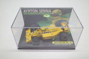 PMA 1-43 ロータス ホンダ 99T ターボ Turbo A.セナ #12 No.15 1987 キャメル CAMEL タバコ 仕様 Lotus Honda- (5)