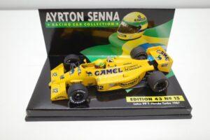 PMA 1-43 ロータス ホンダ 99T ターボ Turbo A.セナ #12 No.15 1987 キャメル CAMEL タバコ 仕様 Lotus Honda- (7)