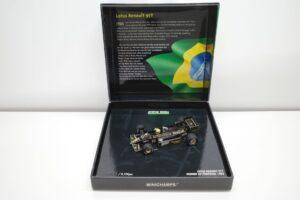 PMA 14-3 ロータス ルノー 97T JPS 1985 A.セナ Ed.40 ポルトガル GP Win Lotus Renault セナ- (2)