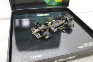 PMA 14-3 ロータス ルノー 97T JPS 1985 A.セナ Ed.40 ポルトガル GP Win Lotus Renault セナ- (7)