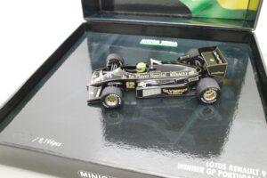 PMA 14-3 ロータス ルノー 97T JPS 1985 A.セナ Ed.40 ポルトガル GP Win Lotus Renault セナ- (8)
